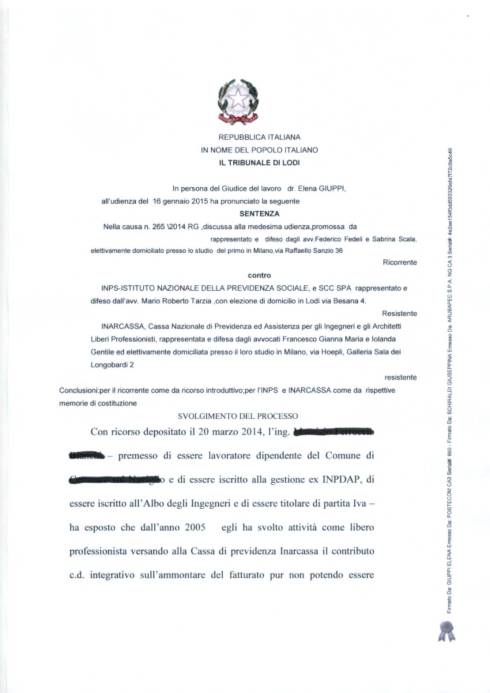 SENTENZA GS INPS -LODI_1